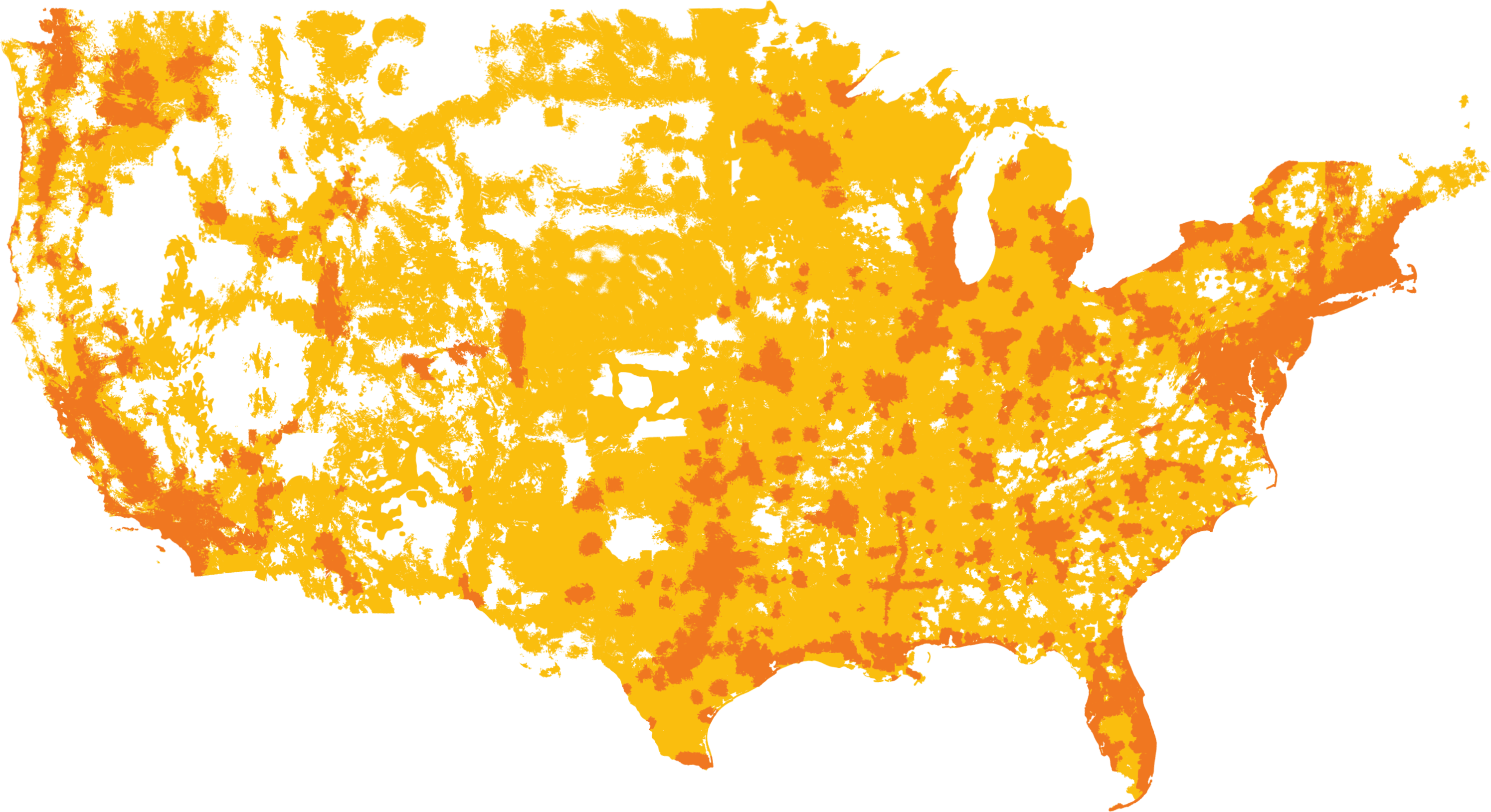 US | MTS Map Of Us At Amp T on at&t nevada, at&t apple, at&t lte map, at&t service map, t-mobile map,