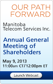Annual General Meeting of Shareholders May 9, 2013